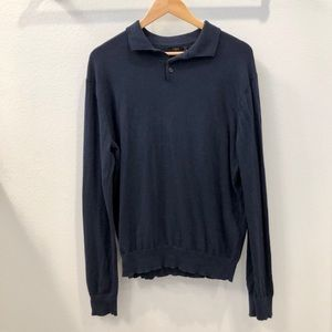 J. Crew Pull Over Sweater with Collar Size M